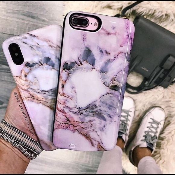 reputable site d0189 5596a Pastel Canyon Marble Battery Power iPhone 6s Case NWT